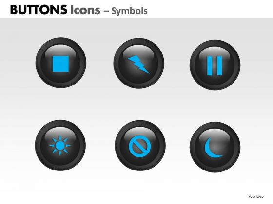 PowerPoint Slides Marketing Buttons Icons Ppt Slide Designs