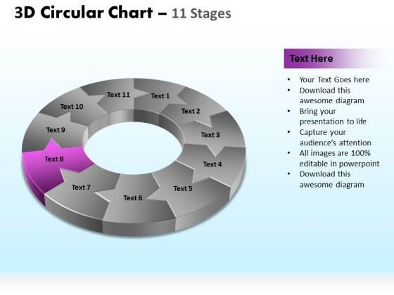PowerPoint Slides Marketing Circular Ppt Themes
