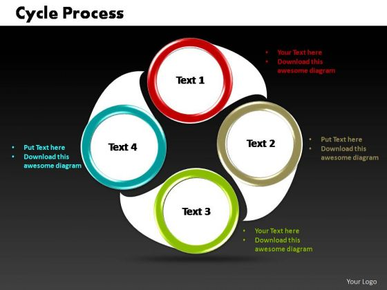 PowerPoint Slides Marketing Cycle Process Ppt Template ...