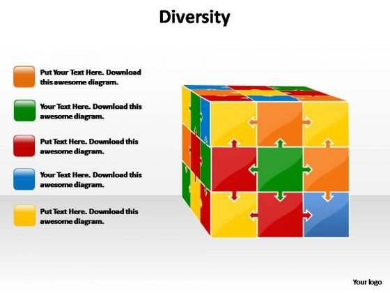 PowerPoint Slides Marketing Diversity Ppt Slides