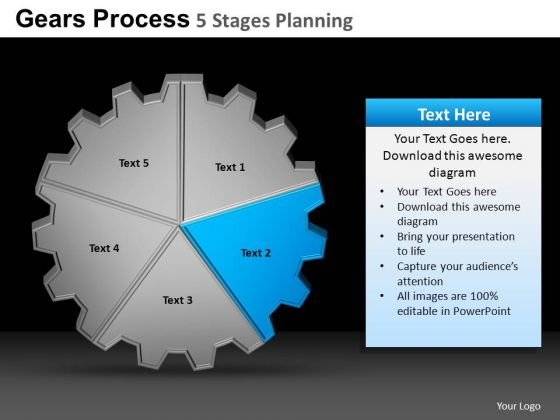 PowerPoint Slides Marketing Gears Process Ppt Designs