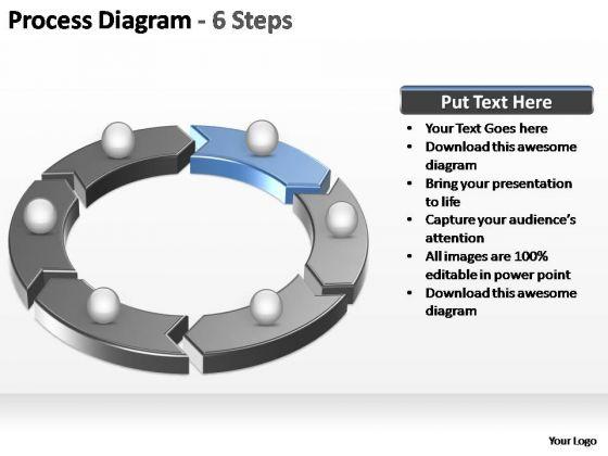 PowerPoint Slides Marketing Process Diagram Ppt Slides