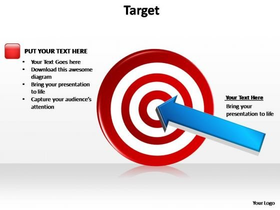PowerPoint Slides Marketing Target Ppt Presentation Designs
