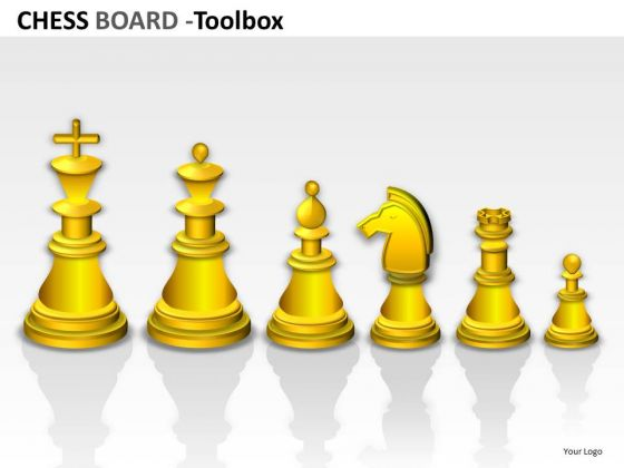 PowerPoint Slides On Chess Teamwork Strategy