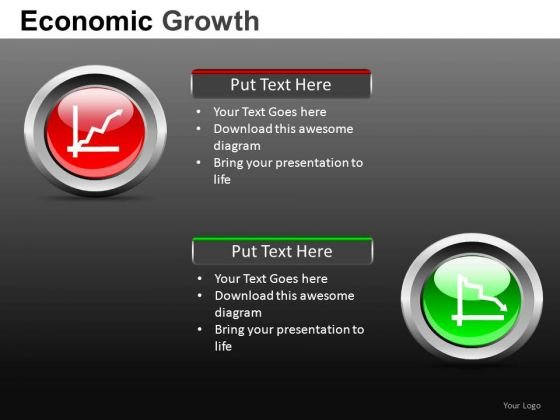 PowerPoint Slides On Economic Growth And Recession