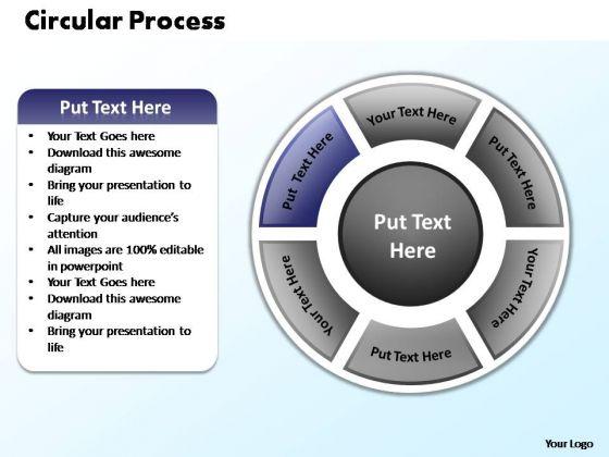 PowerPoint Slides Process Circular Process Ppt Themes