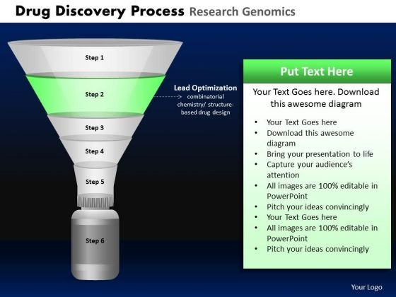 PowerPoint Slides Process Drug Discovery Ppt Design