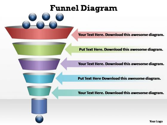 PowerPoint Slides Process Funnel Diagram Ppt Design