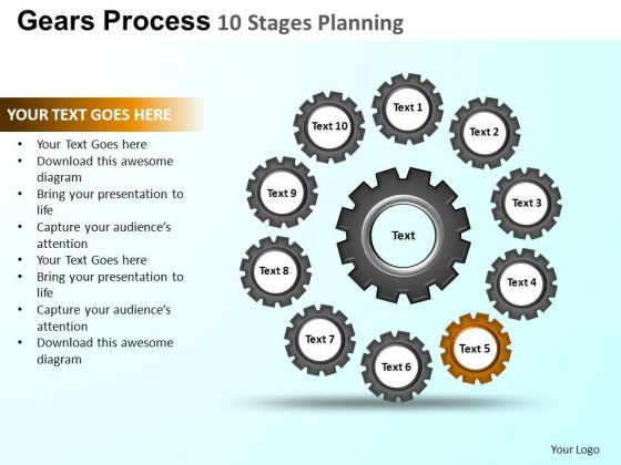 PowerPoint Slides Process Gears Process Ppt Layouts