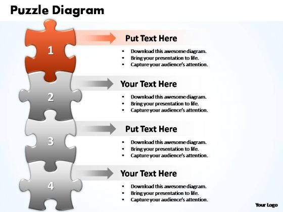 PowerPoint Slides Process Puzzle Piece Ppt Design
