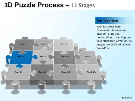 PowerPoint Slides Process Puzzle Process Ppt Slide Designs