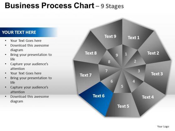 PowerPoint Slides Sales Circular Quadrant Ppt Presentation Designs