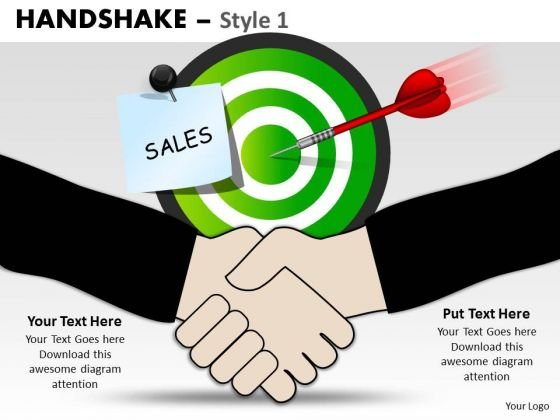 PowerPoint Slides Strategy Handshake Ppt Designs