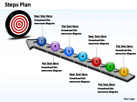 PowerPoint Slides Strategy Steps Plan Ppt Process