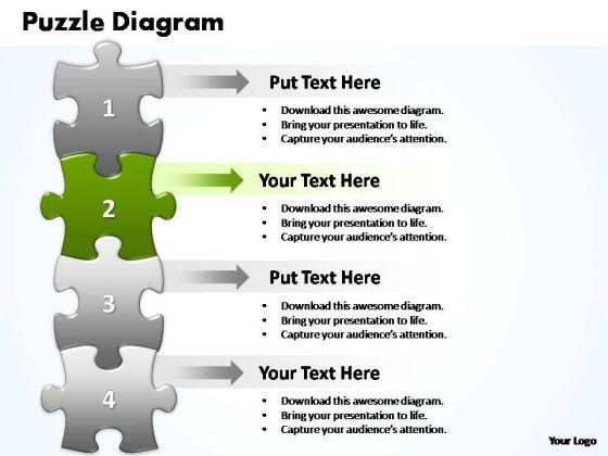 PowerPoint Slides Success Puzzle Piece Ppt Design