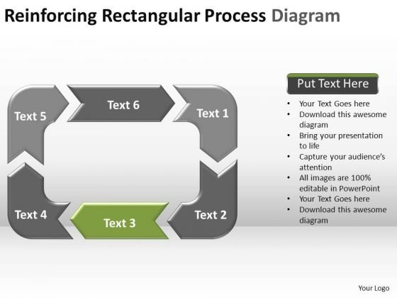 PowerPoint Slides Success Reinforcing Process Ppt Backgrounds