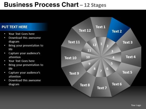 PowerPoint Template Business Chart Ppt Process
