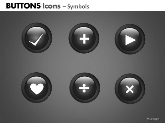 PowerPoint Template Business Designs Buttons Icons Ppt Slide Designs
