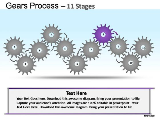 PowerPoint Template Business Gears Ppt Designs