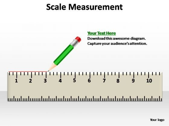 PowerPoint Template Business Scale Measurement Ppt Slides