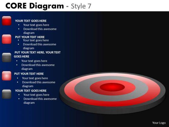 PowerPoint Template Business Success Core Diagram Ppt Slides