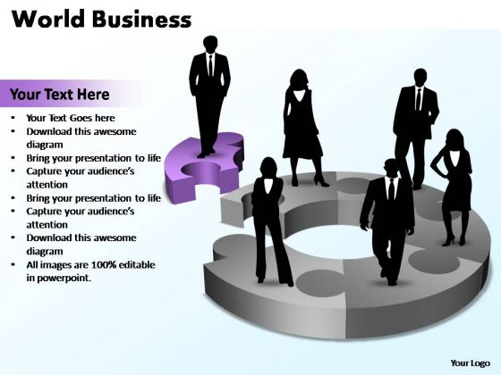 PowerPoint Template Business World Ppt Slides