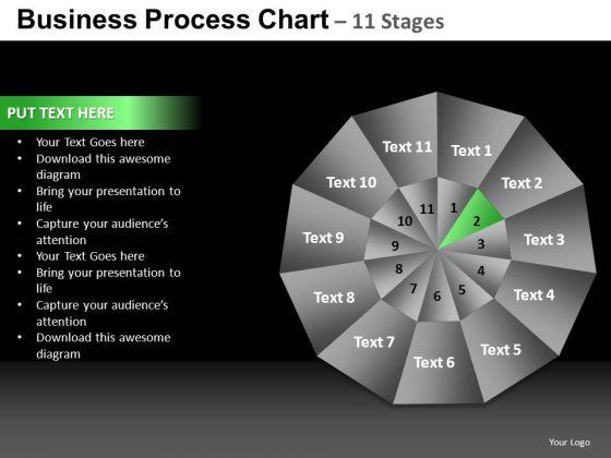 PowerPoint Template Chart Pie Chart Ppt Design