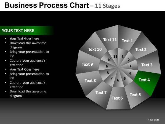 PowerPoint Template Chart Pie Chart Ppt Template