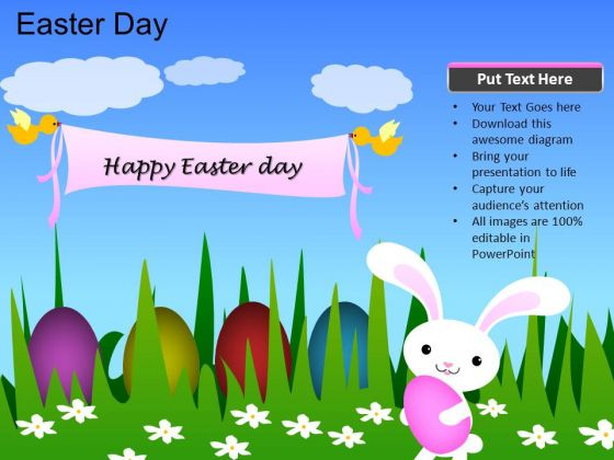 Powerpoint Template Church Easter Day Ppt Process  Powerpoint Templates