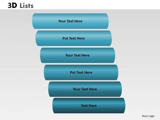 PowerPoint Template Company Bulleted List Ppt Design