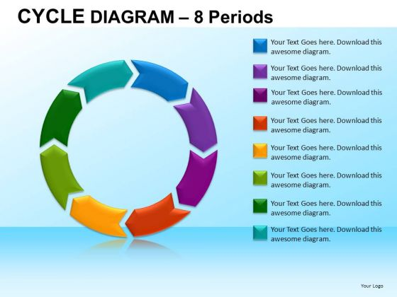 PowerPoint Template Company Designs Cycle Diagram Ppt Slide