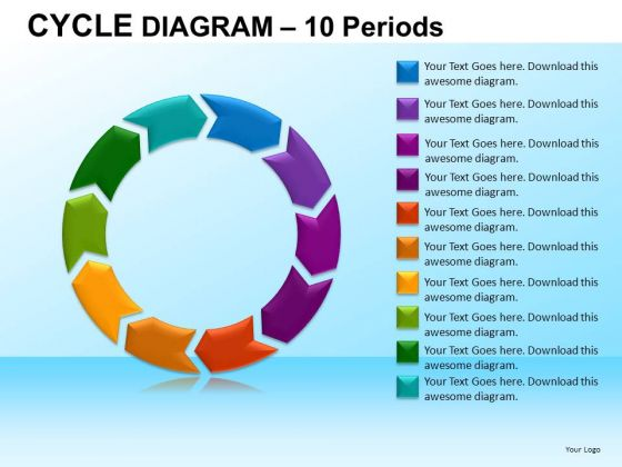 PowerPoint Template Company Designs Cycle Diagram Ppt Themes