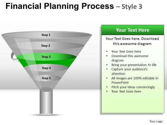 PowerPoint Template Company Success Financial Planning Process Ppt Slide Designs