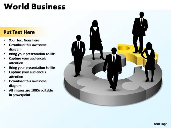 PowerPoint Template Company World Business Ppt Slides