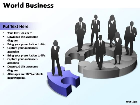 PowerPoint Template Company World Ppt Slides