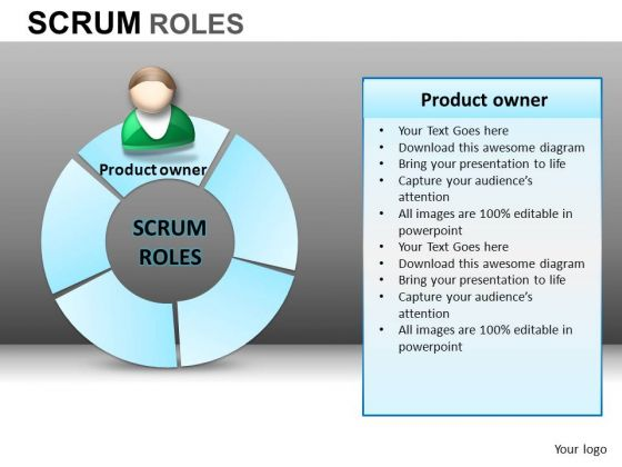 PowerPoint Template Corporate Teamwork Scrum Process Ppt Design