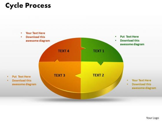 PowerPoint Template Cycle Process Graphic Ppt Design