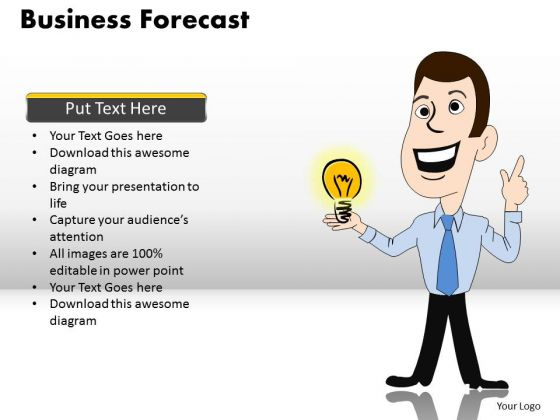 PowerPoint Template Diagram Business Forecast Ppt Layout