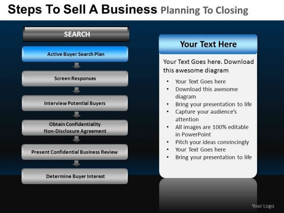 PowerPoint Template Diagram Business Planning Ppt Process