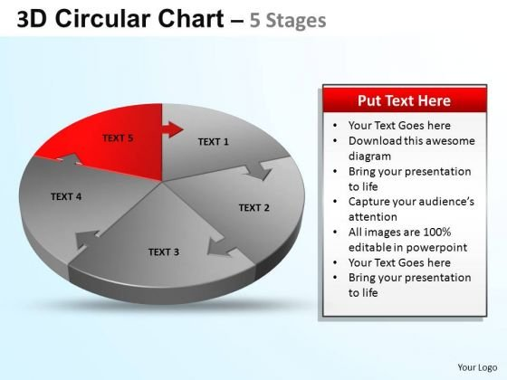 PowerPoint Template Diagram Circular Ppt Template