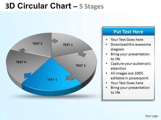 PowerPoint Template Diagram Circular Ppt Theme