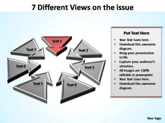 PowerPoint Template Diagram Views Ppt Theme