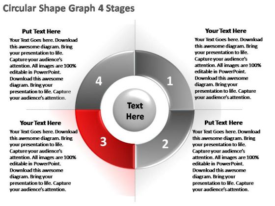 PowerPoint Template Download Circular Ppt Presentation