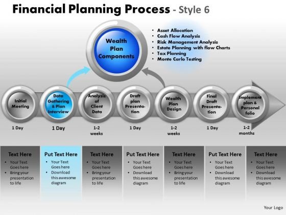 PowerPoint Template Download Financial Planning Ppt Themes
