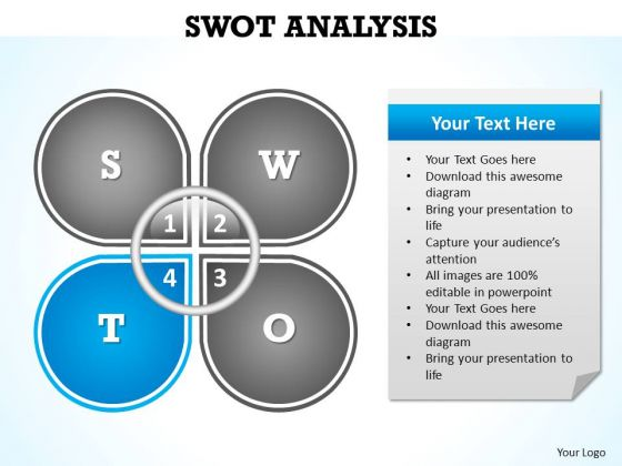PowerPoint Template Download Swot Analysis Ppt Slides PowerPoint – Swot Template Free Download