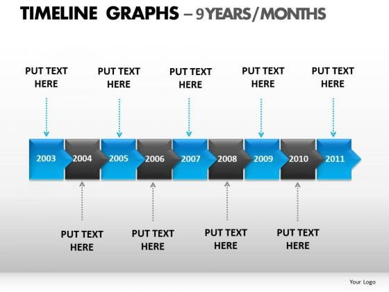 PowerPoint Template Download Timeline Graphs Ppt Templates