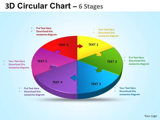 PowerPoint Template Editable Circular Ppt Slide