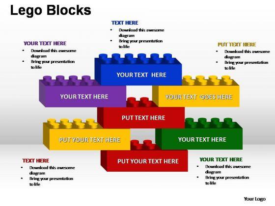 PowerPoint Template Editable Lego Ppt Theme