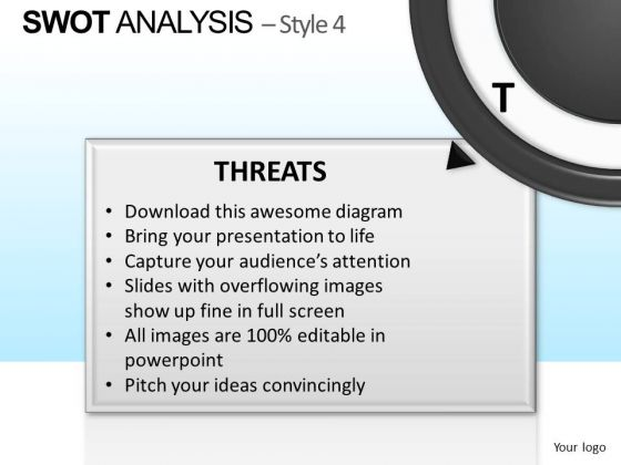PowerPoint Template Executive Designs Swot Analysis Ppt Layouts