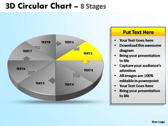 PowerPoint Template Graphic Circular Ppt Slide